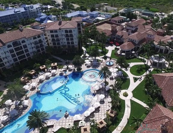 Beaches Resort Turks and Caicos - pool Italian village