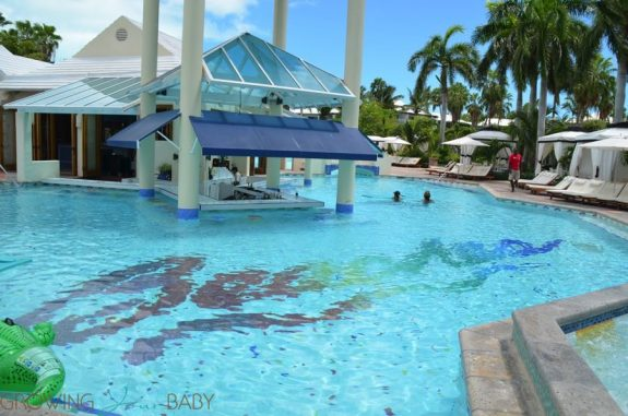 Beaches Resort Turks and Caicos - pool caribbean village