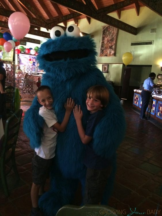 Beaches Resort Turks and Caicos - sesame street breakfast