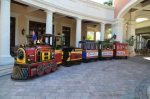 Beaches Resort Turks and Caicos - train italian village