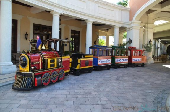 Beaches Resort Turks and Caicos - train italian village