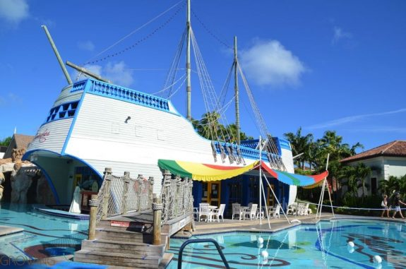 Beaches Resort Turks and Caicos - water park ship