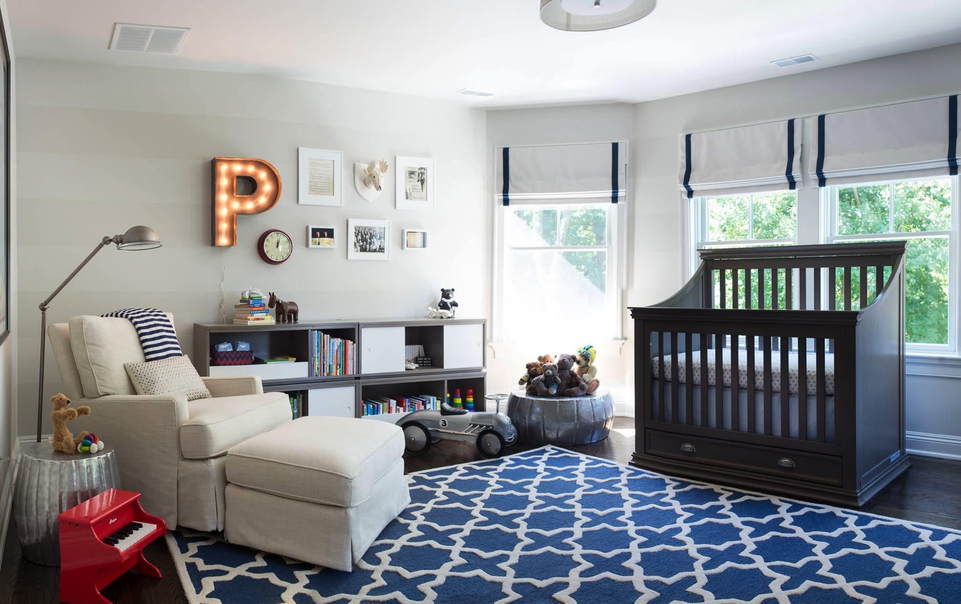 Стильные комнаты для детей фото