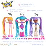 Betty Spaghetty Deluxe Mix & Match Pack New