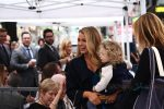 Blake Lively at husband Ryan Reynolds Walk of Fame ceremony with daughter James Reynolds