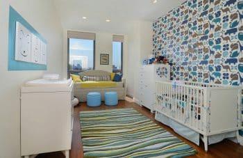 Feature wall nursery