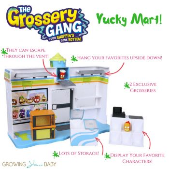 Grossery Gang Yucky Mart!