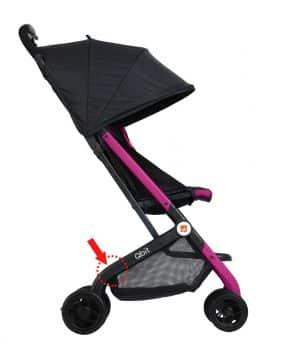 Image of recalled Qbit stroller