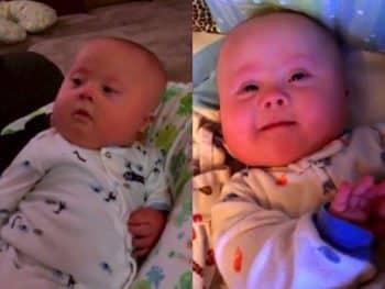 Julie McConnel's twins