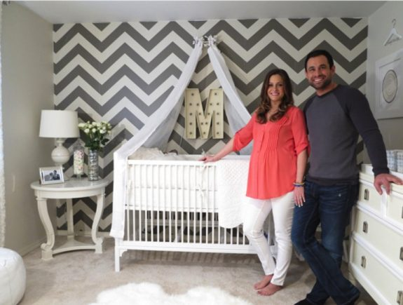 Molly and Jason Mesnick's nursery