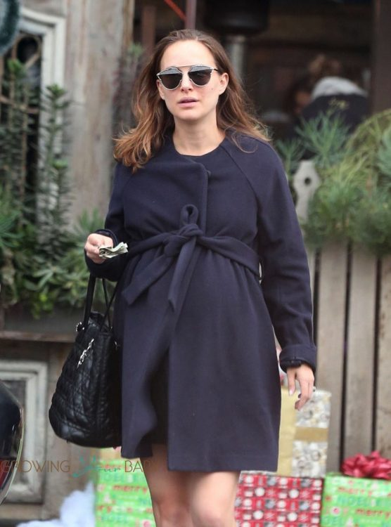 Pregnant Natalie Portman steps out in Los Angeles