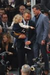 Ryan Reynolds at Walk of Fame ceremony with daughter James Reynolds