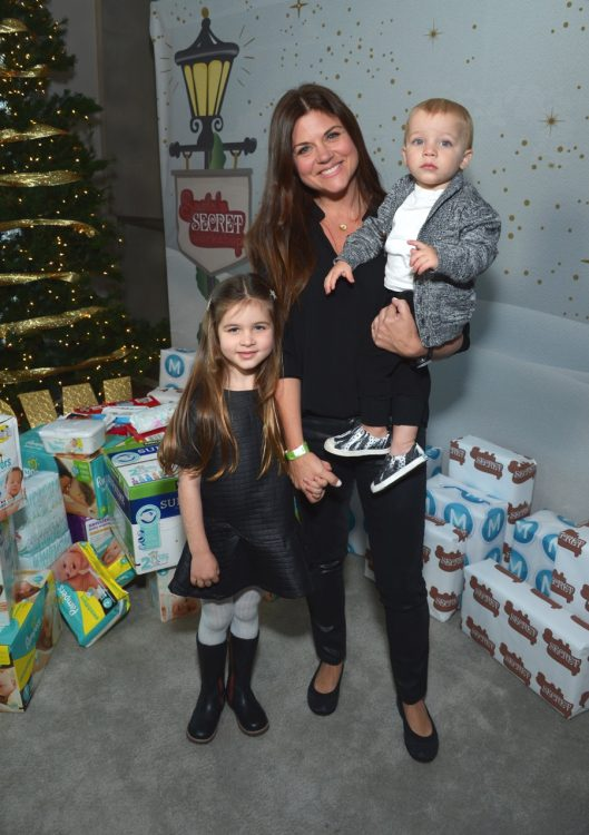 tiffani-thiessen-with-kids-harper-and-holt-at-6th-annual-santas-secret-workshop