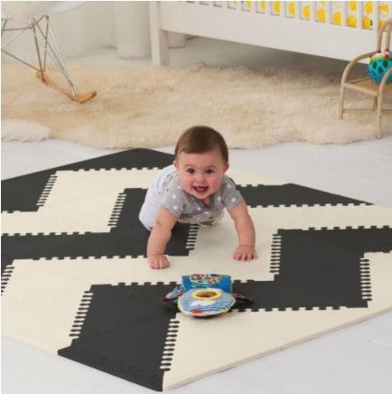 skip hop geo pattern floor