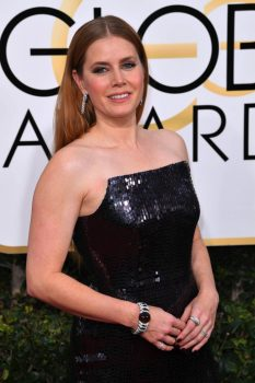 Amy Adams at the 74th Annual Golden Globe Awards