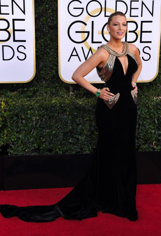Blake Lively at the 74th Annual Golden Globe Awards