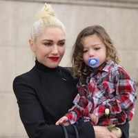 Gwen Stefani Attends Sunday Service With Her Boys
