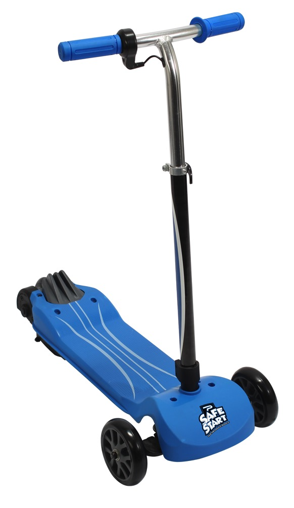Image of recalled Pulse Safe Start Transform electric scooter in blue