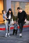 Kourtney Kardashian out in LA with kids Penelope & Reign Disick