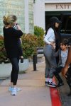 Kourtney Kardashian out in LA with son Mason