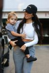 Kourtney Kardashian out in LA with son Reign Disick