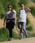 Pregnant Natalie Portman Out For A Morning Hike in LA