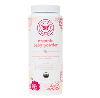 Recalled Organic Baby Powder Honest Company