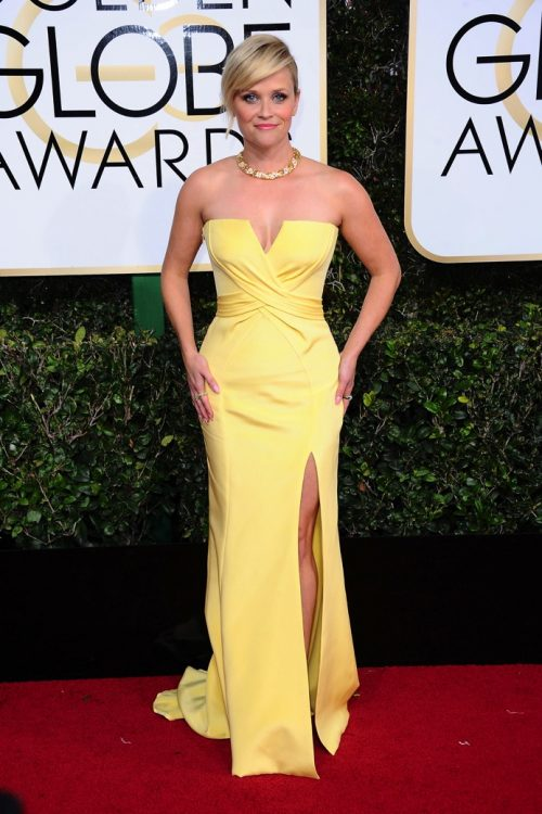 Reese Witherspoon at the 74th Annual Golden Globe Awards