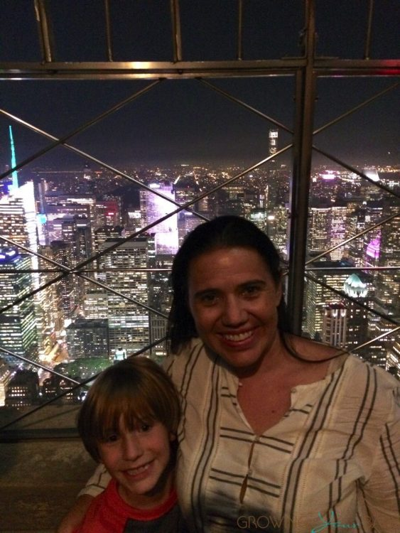 Us at the Empire State Building