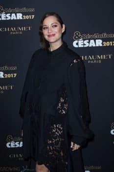 pregnant Marion Cotillard at Revelations Cesars 2017 In Paris
