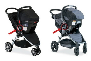 RECALL:  717,000 Britax B-Agile & BOB Motion Strollers With 'Click N Go' Due To Fall Hazard