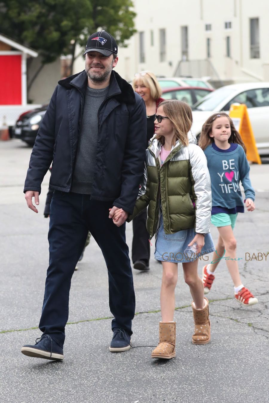Ben Affleck & Jennifer Garner attend church service with ...