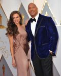 Dwayne the rock Johnson at the 89th Annual Academy Awards