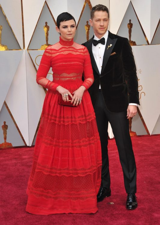 Ginnifer Goodwin and Josh Dallas at the 89 Annual Academy Awards