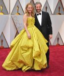 Judd Apato and Leslie Mann at the 89 Annual Academy Awards