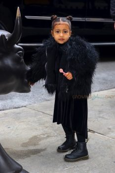 North West out in NYC