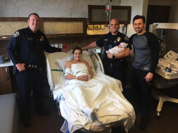 SDPD Officers Help Deliver Baby at Post Office!