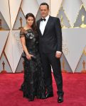 Vince and Kyla Vaughn at the 89 Annual Academy Awards