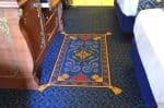 WDW Port Orleans Riverside Royal Room - Alladin's carpet
