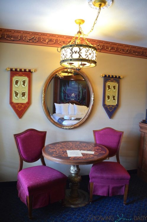 WDW Port Orleans Riverside Royal Room - dining table