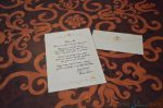 WDW Port Orleans Riverside Royal Room - letter from Tiana