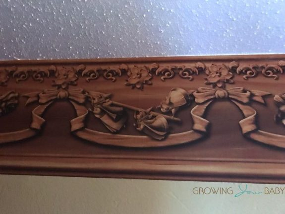 WDW Port Orleans Riverside Royal Room - wall banner with fairy godmothers