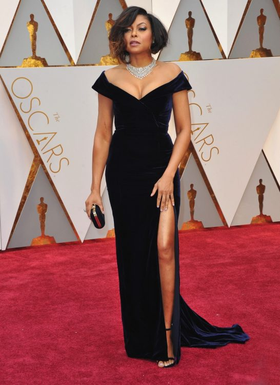 taraji p henson at the 89 Annual Academy Awards