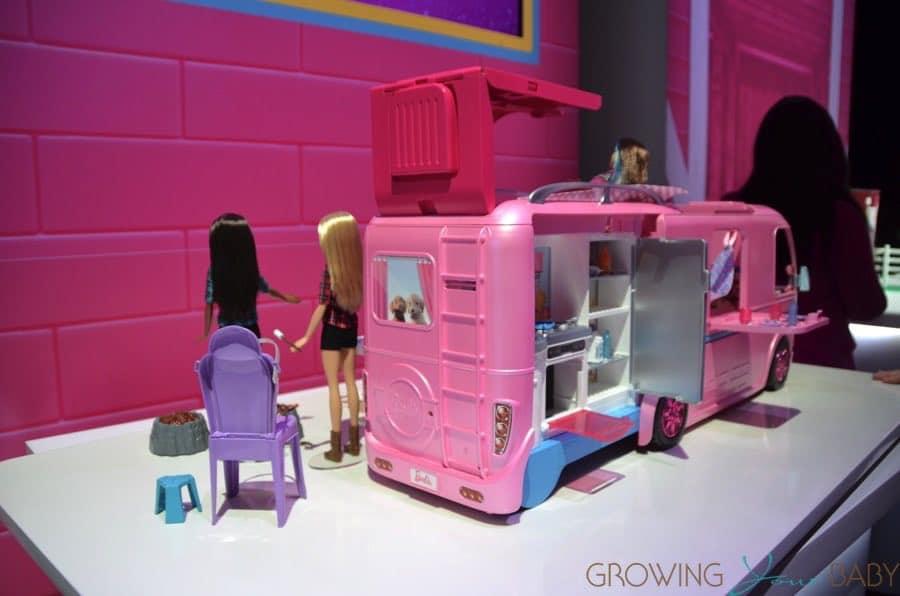 Barbie Dreamcamper 2017 Back Growing Your Baby Growing