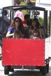 Jenna Dewan Takes Her Daughter Everly To The Farmer's Market In LA