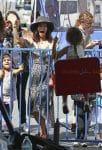 Jenna Dewan Takes Her Daughter Everly To The Farmer's Market In Studio City LA