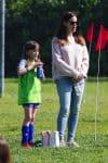 Jennifer Garner at soccer practice with daughter Seraphina