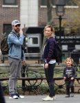Olivia Wilde & Jason Sudeikis Take A Walk In Washington Square Park