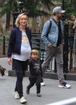 Olivia Wilde & Jason Sudeikis Take A Walk In Washington Square Park with son Otis