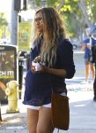 Pregnant Ciara shops in Beverly Hills